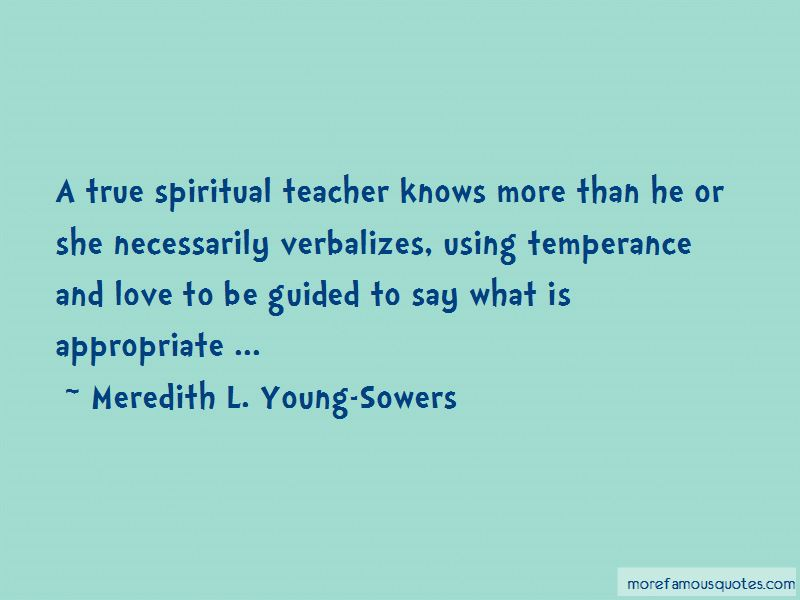 Meredith L. Young-Sowers Quotes Pictures 4