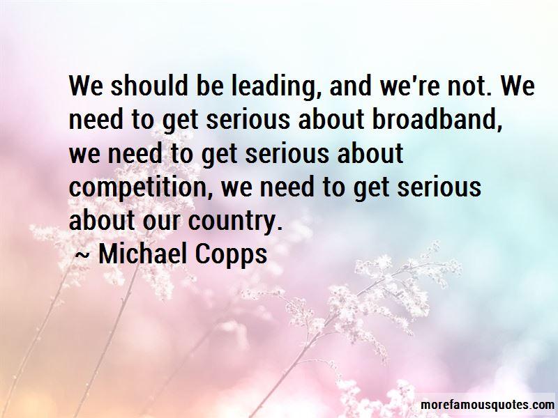 Michael Copps Quotes