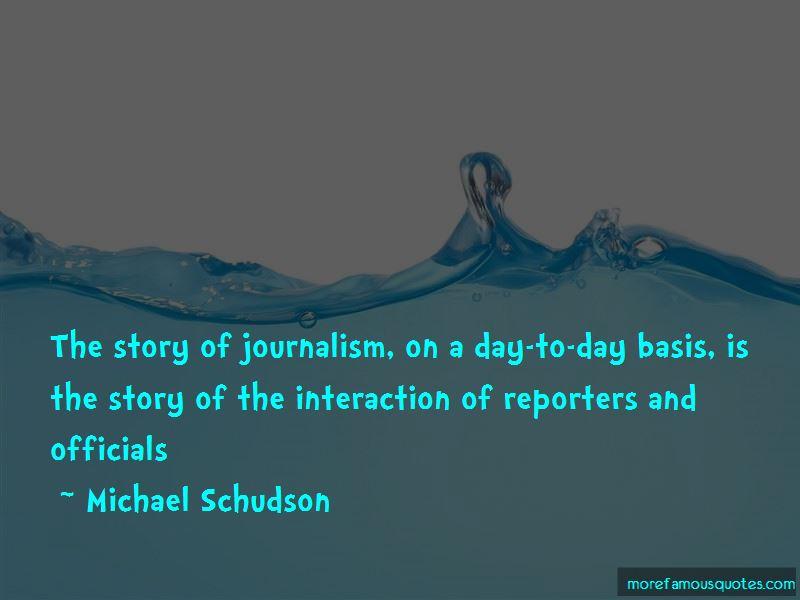 Michael Schudson Quotes Pictures 3