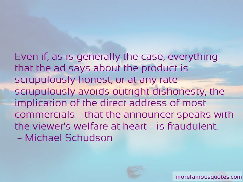 Michael Schudson Quotes