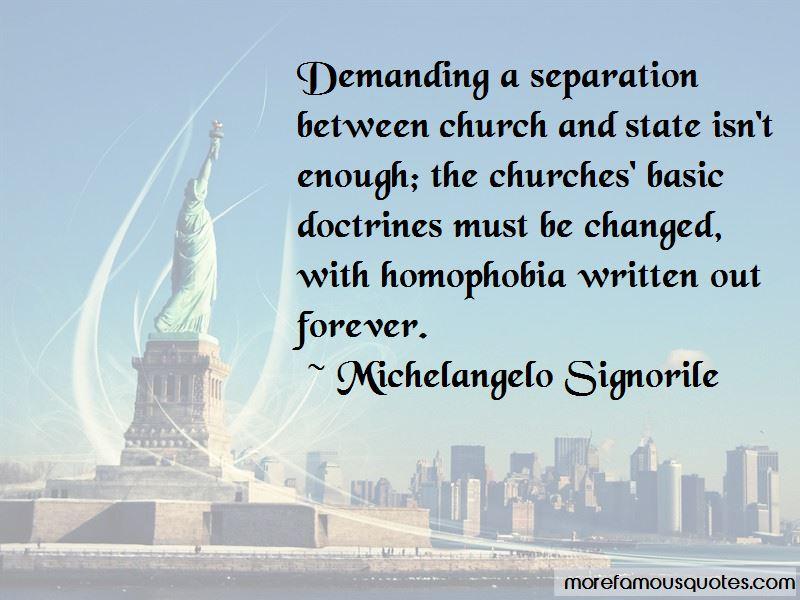 Michelangelo Signorile Quotes