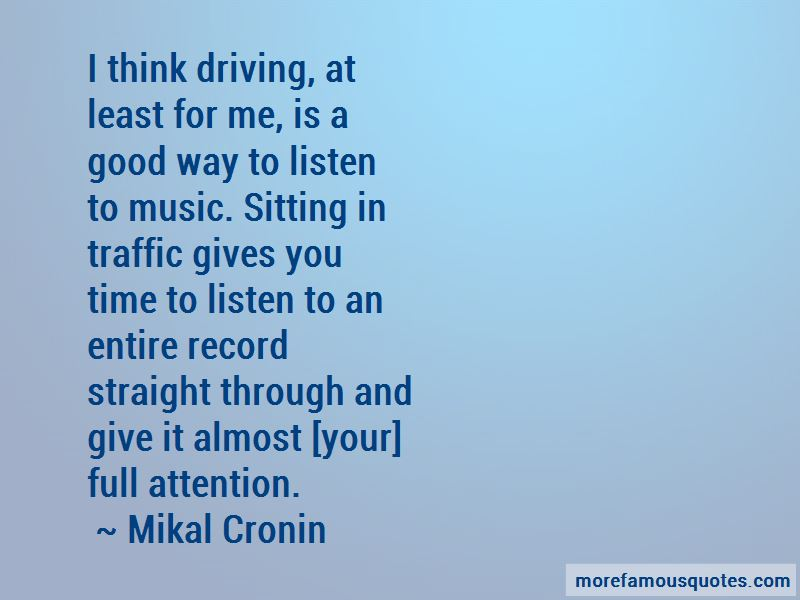 Mikal Cronin Quotes Pictures 3