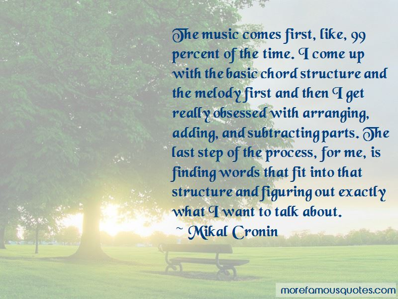 Mikal Cronin Quotes Pictures 4