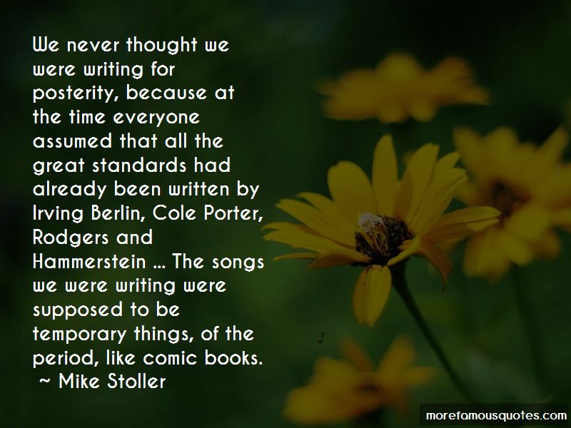 Mike Stoller Quotes Pictures 2