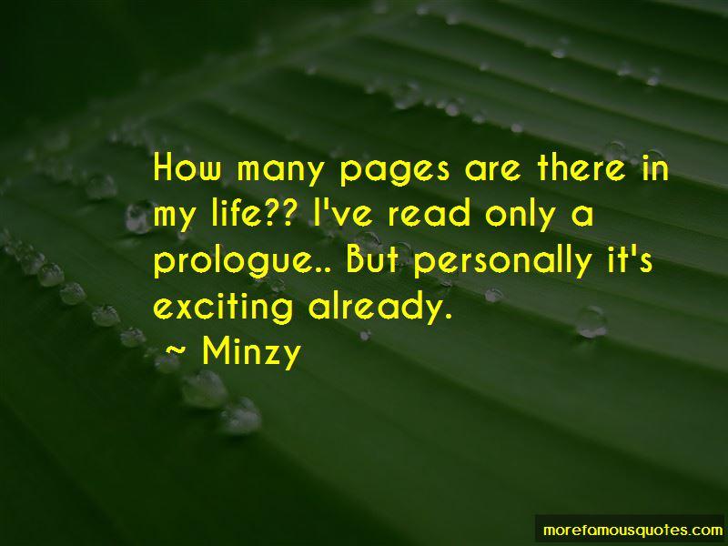 Minzy Quotes Pictures 2