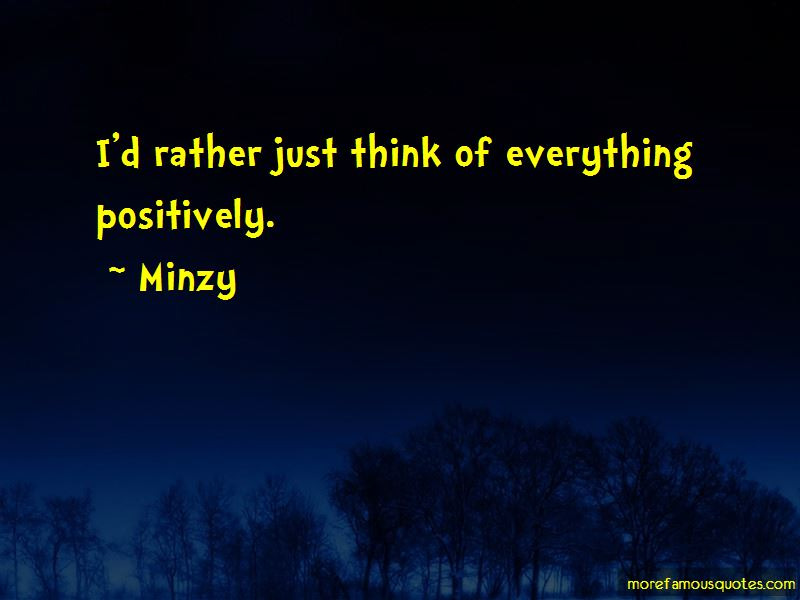 Minzy Quotes Pictures 3