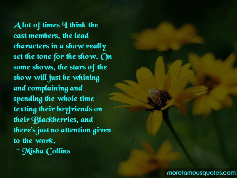 Misha Collins Quotes Pictures 3