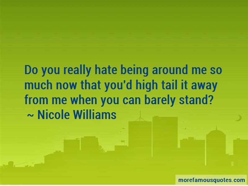 Nicole Williams Quotes Pictures 2