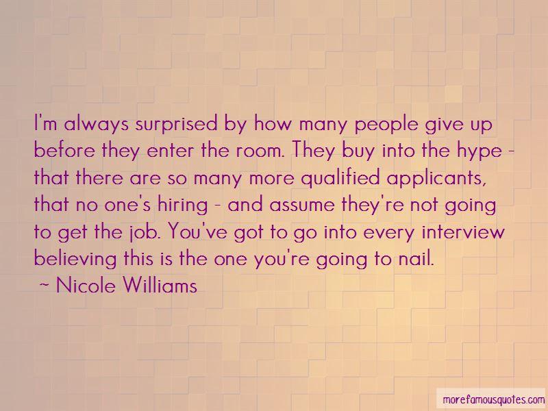 Nicole Williams Quotes