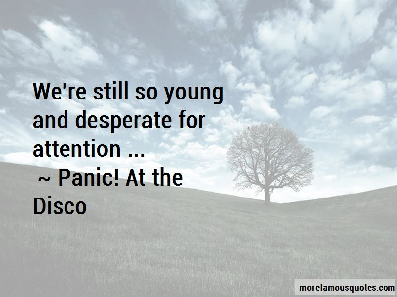 Panic! At The Disco Quotes Pictures 2