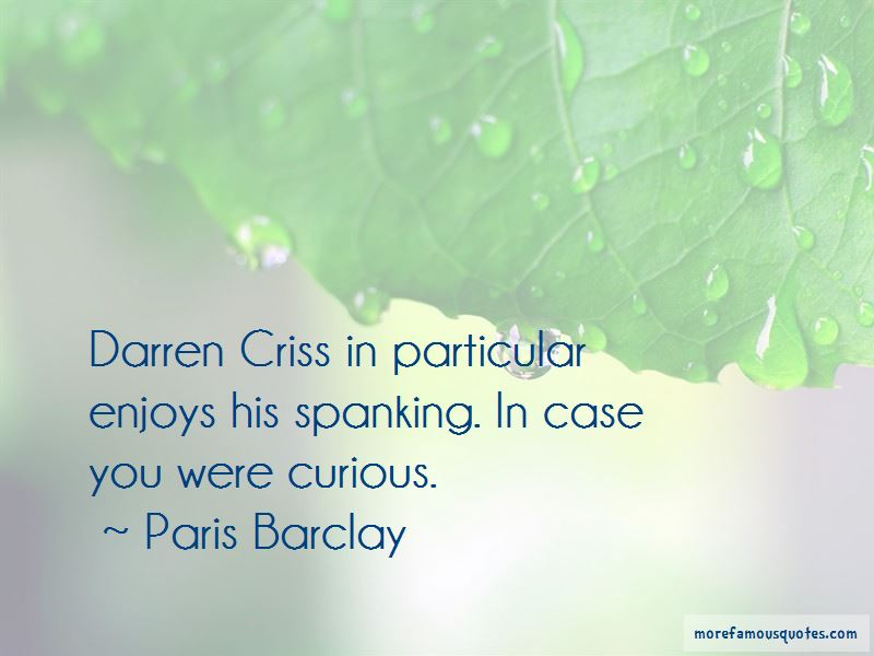 Paris Barclay Quotes Pictures 3