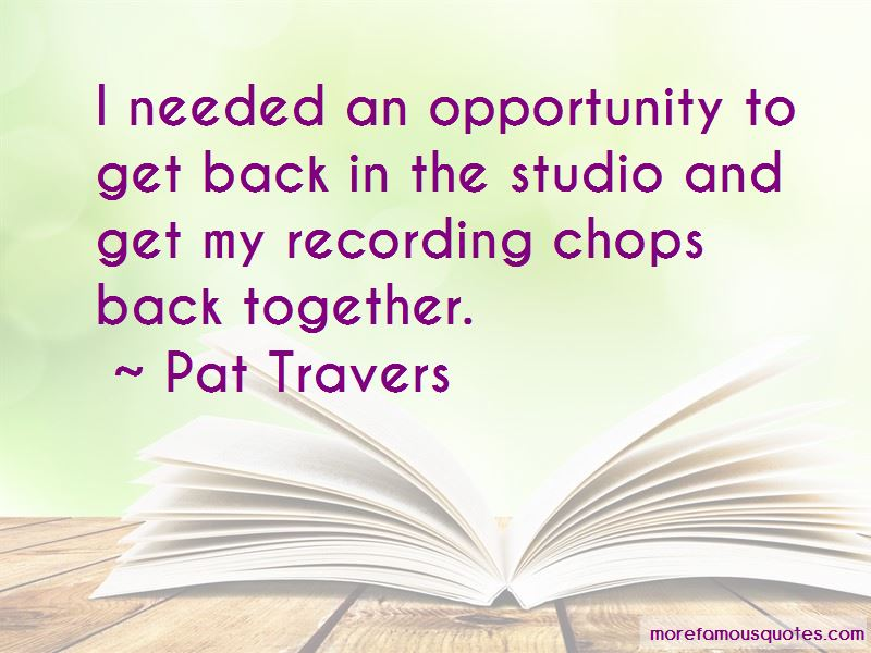 Pat Travers Quotes Pictures 2