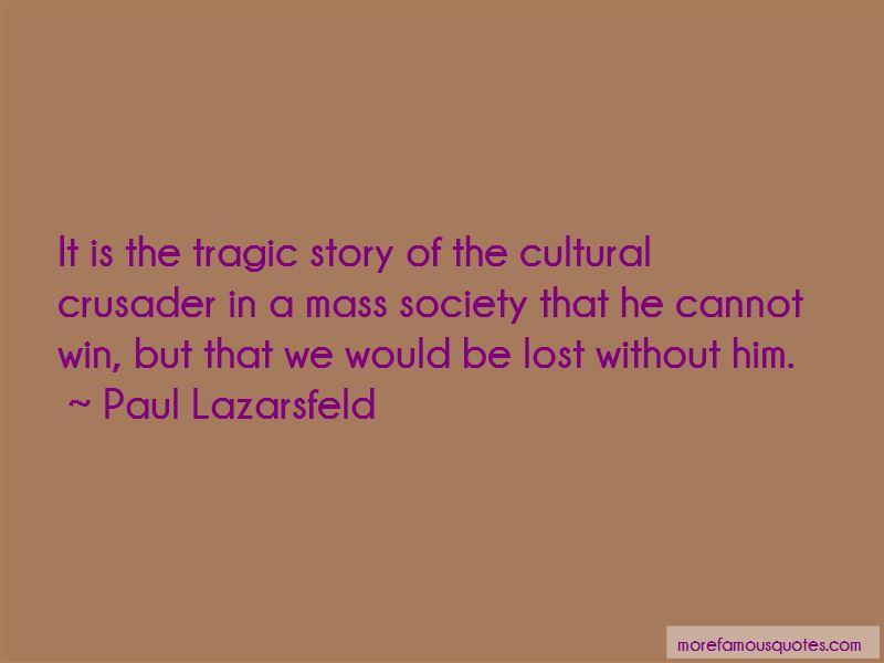 Paul Lazarsfeld Quotes Pictures 2