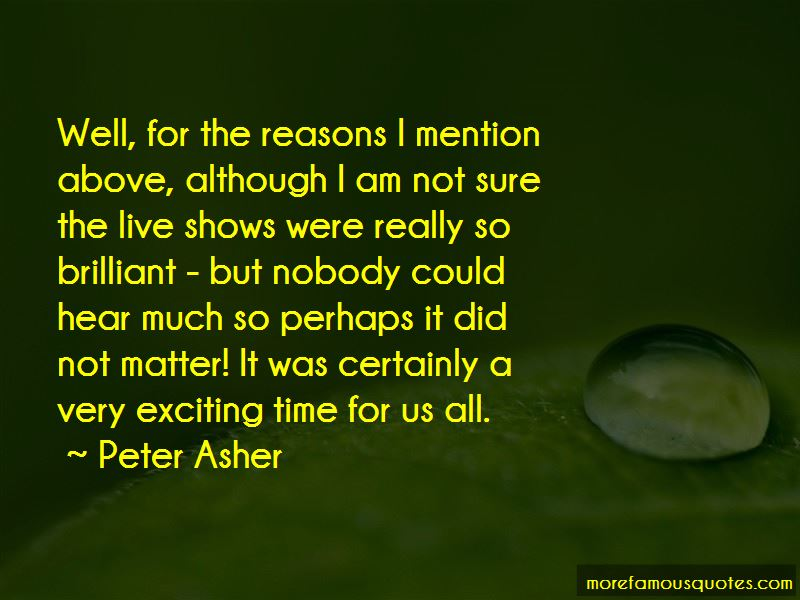 Peter Asher Quotes Pictures 2