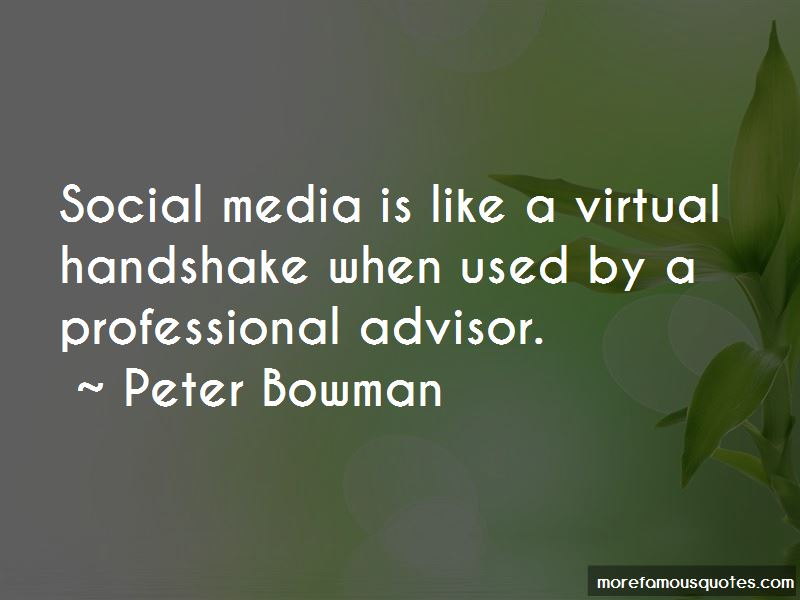 Peter Bowman Quotes Pictures 2