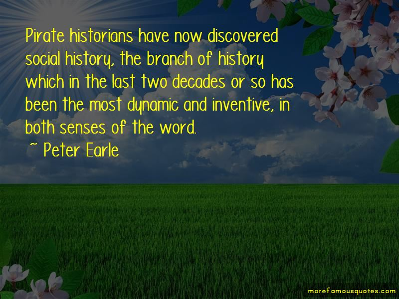 Peter Earle Quotes Pictures 4