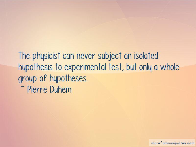 Pierre Duhem Quotes Pictures 2