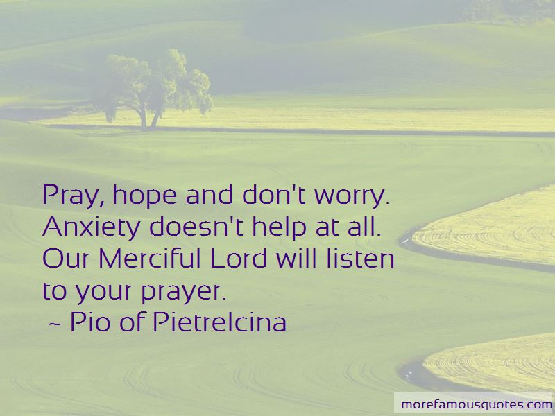 Pio Of Pietrelcina Quotes
