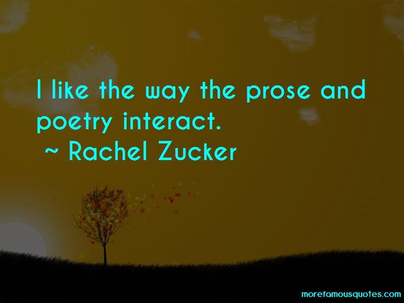 Rachel Zucker Quotes Pictures 3