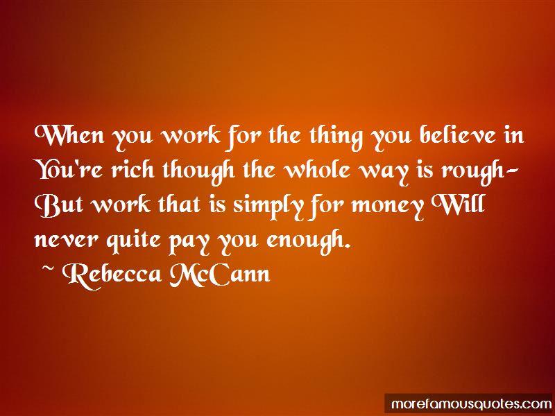 Rebecca McCann Quotes Pictures 2