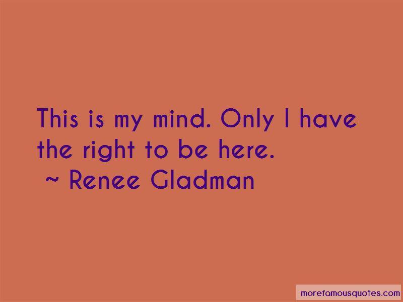 Renee Gladman Quotes Pictures 2