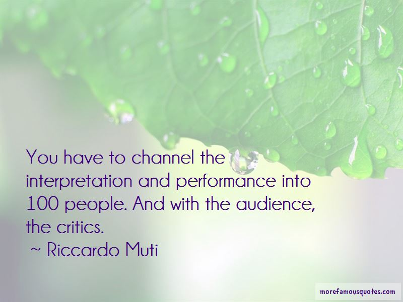 Riccardo Muti Quotes Pictures 2