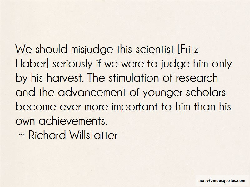 Richard Willstatter Quotes Pictures 3