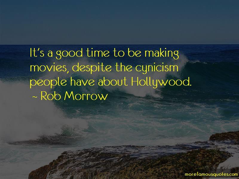 Rob Morrow Quotes