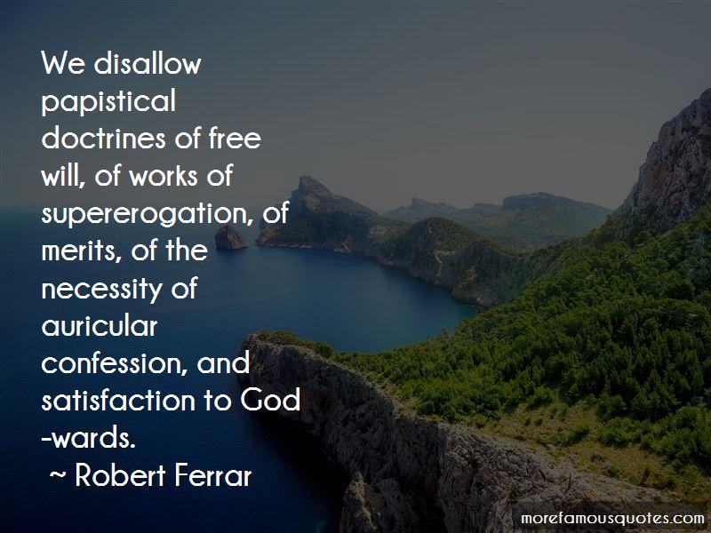 Robert Ferrar Quotes