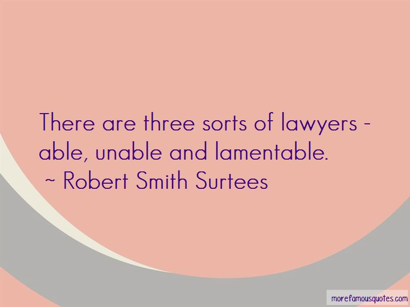 Robert Smith Surtees Quotes Pictures 2