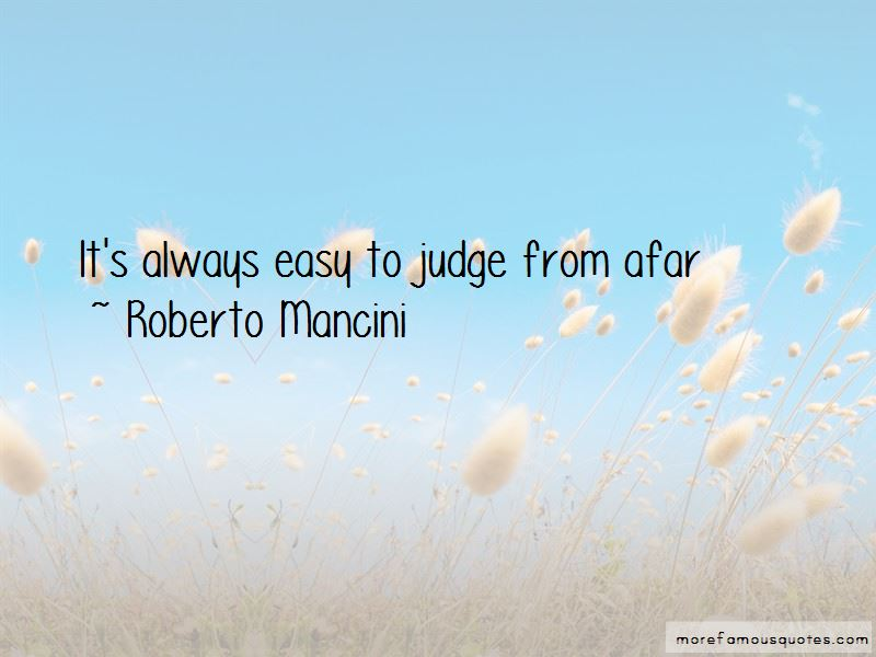 Roberto Mancini Quotes