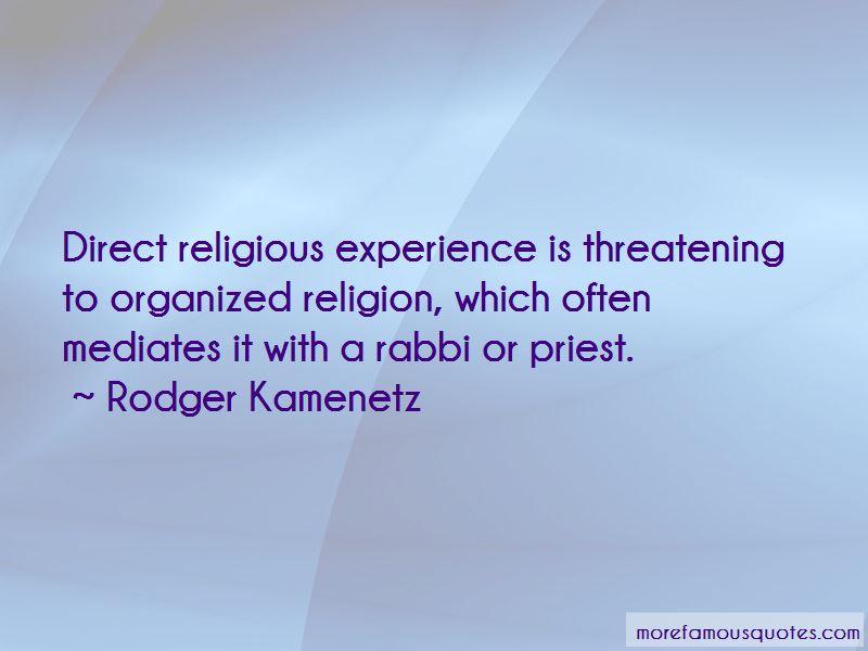 Rodger Kamenetz Quotes Pictures 2