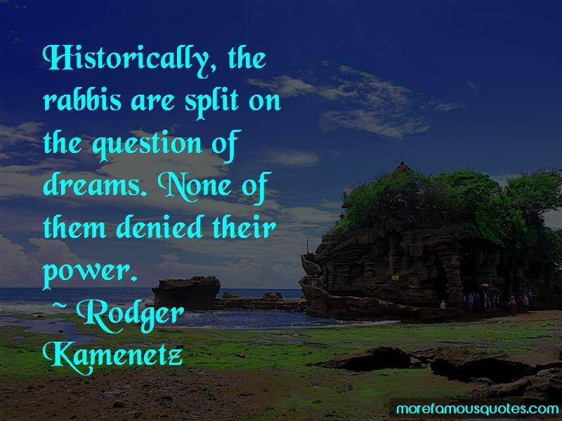Rodger Kamenetz Quotes Pictures 3