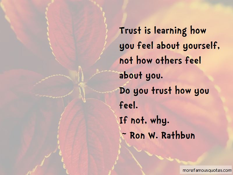 Ron W. Rathbun Quotes Pictures 2