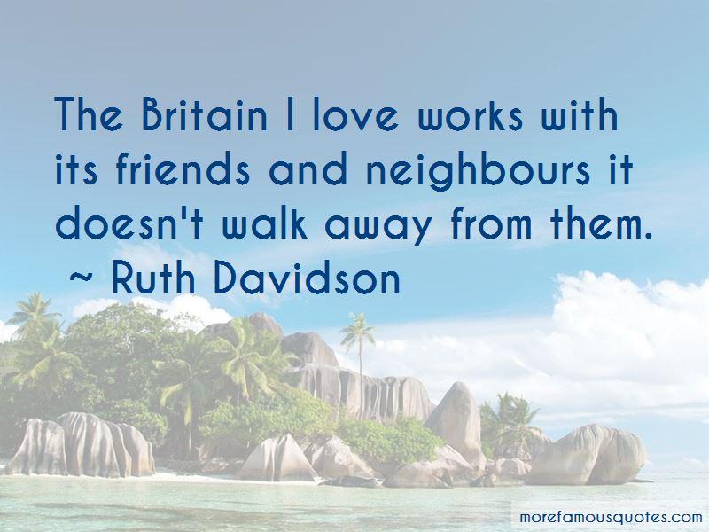 Ruth Davidson Quotes