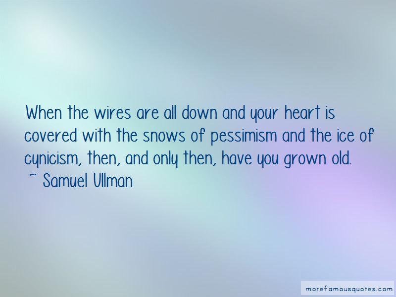 Samuel Ullman Quotes Pictures 4