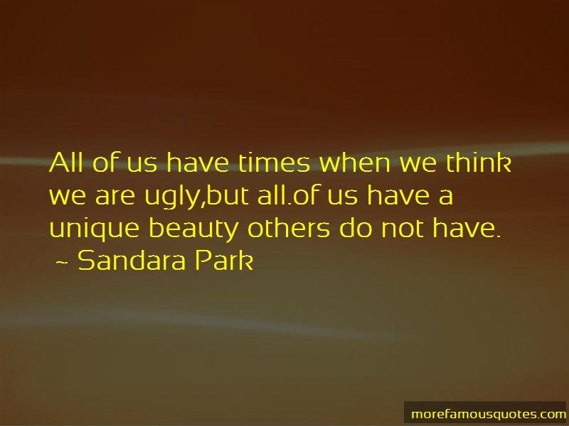 Sandara Park Quotes