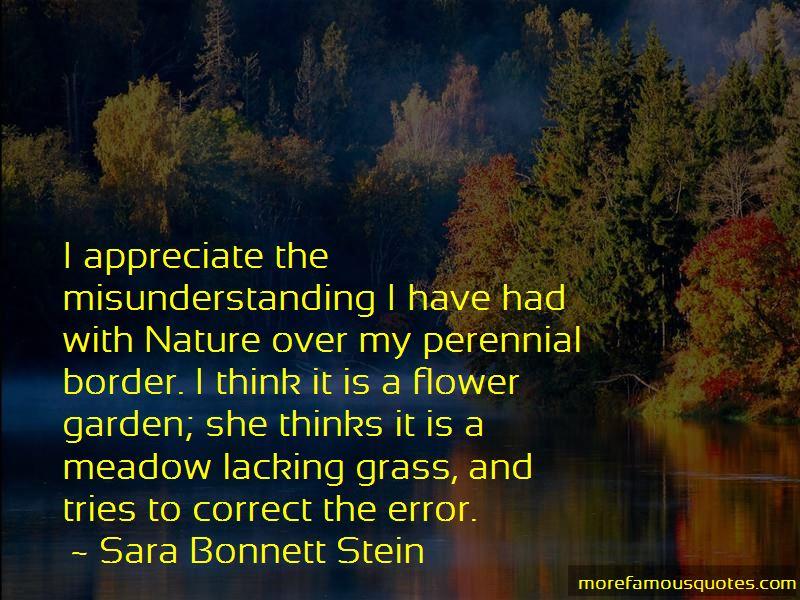 Sara Bonnett Stein Quotes Pictures 2