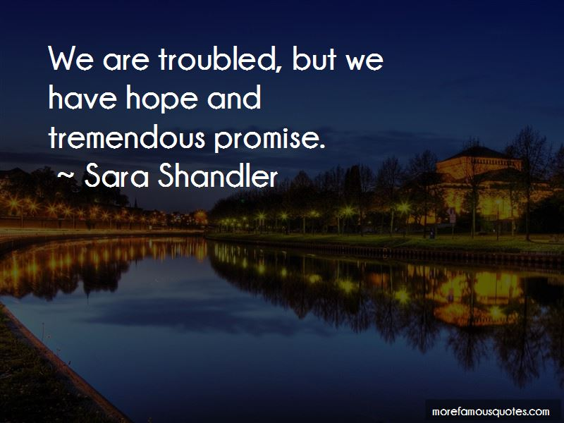 Sara Shandler Quotes Pictures 2