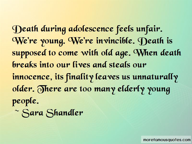 Sara Shandler Quotes Pictures 3
