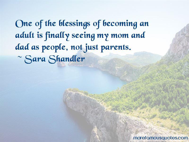 Sara Shandler Quotes