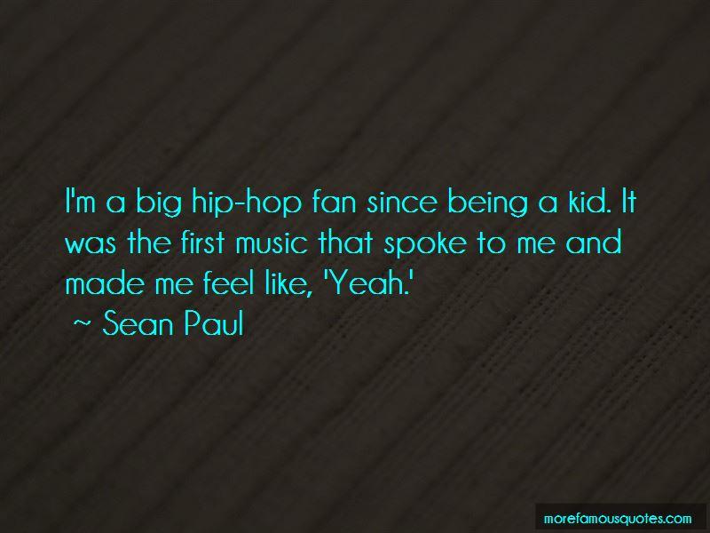 Sean Paul Quotes Pictures 2