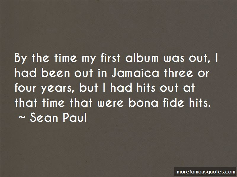Sean Paul Quotes Pictures 3