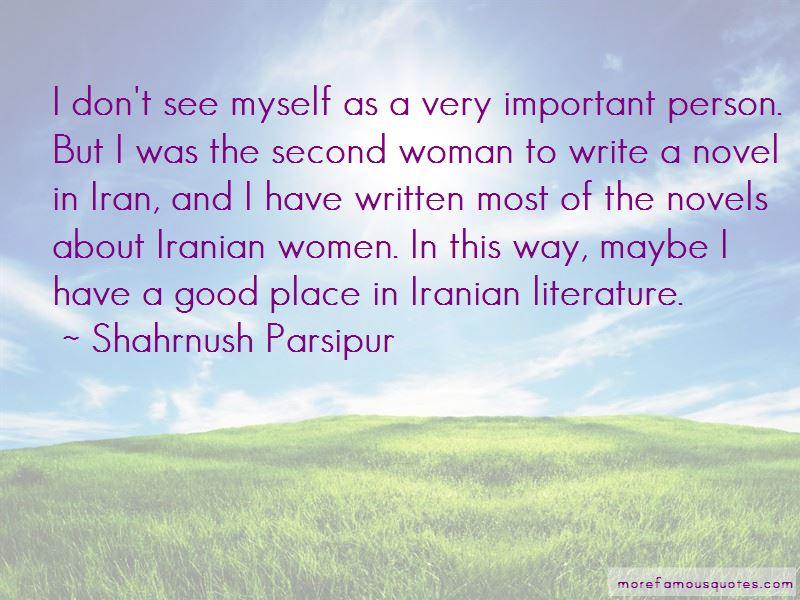 Shahrnush Parsipur Quotes Pictures 2
