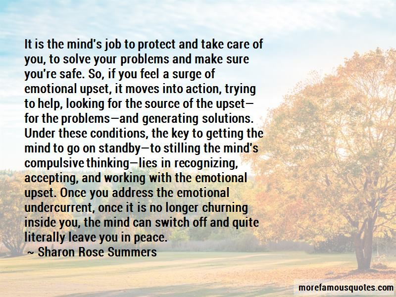 Sharon Rose Summers Quotes