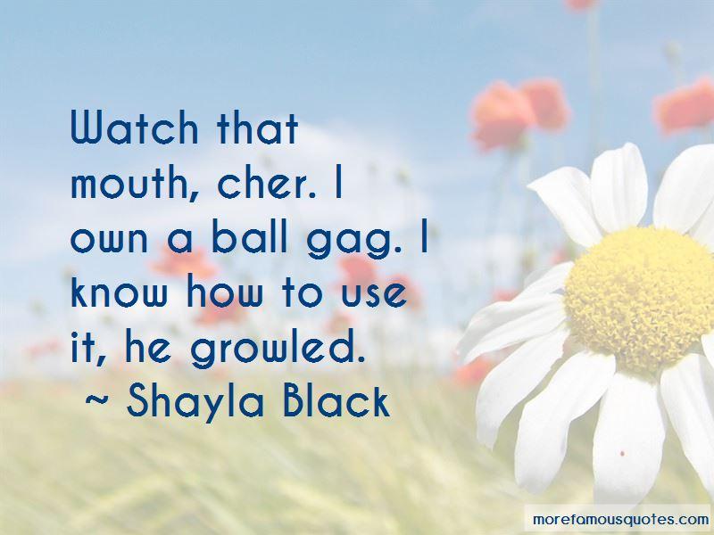 Shayla Black Quotes