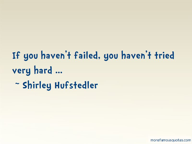 Shirley Hufstedler Quotes