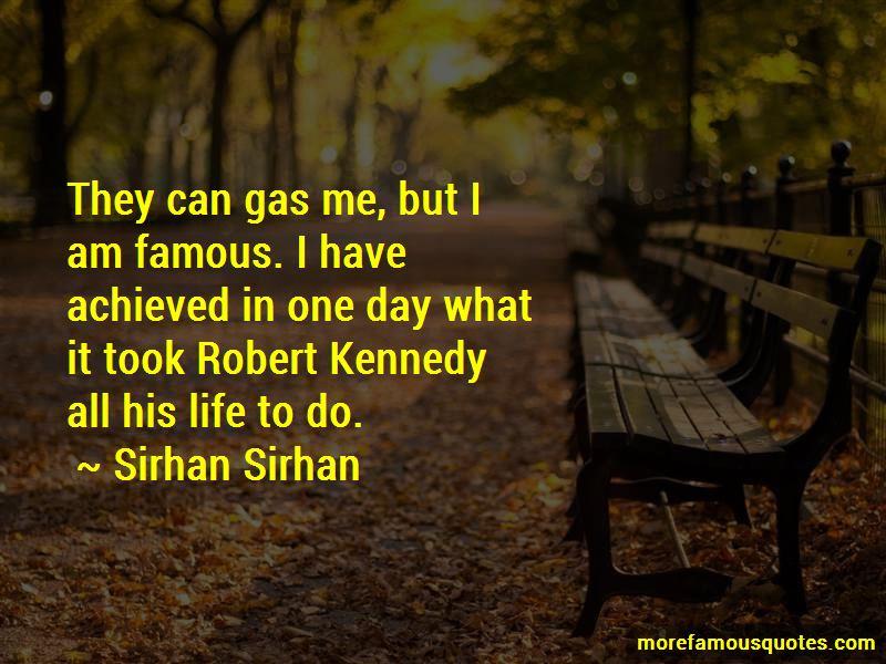 Sirhan Sirhan Quotes