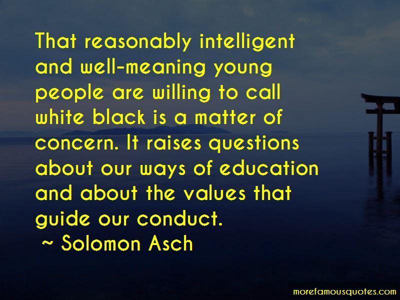 Solomon Asch Quotes