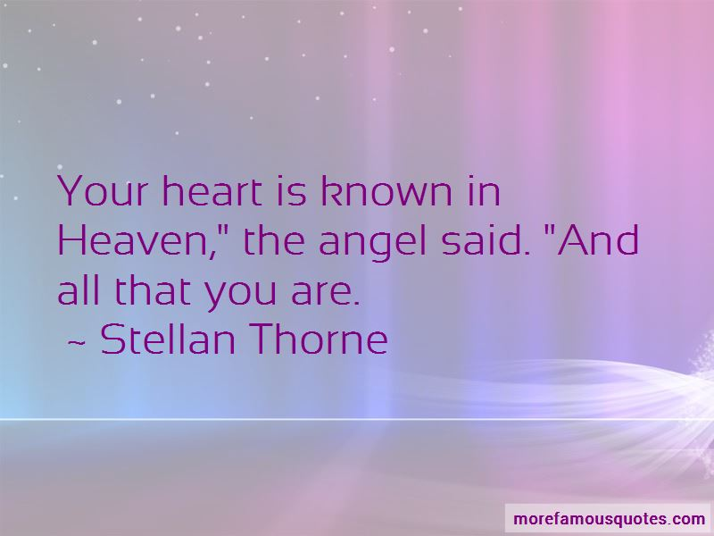 Stellan Thorne Quotes